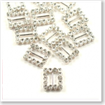 Diamante Invitation Buckles