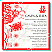 Red Double Happiness Wedding Invitation
