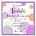 Disco Dots Bat Mitzvah Invitation