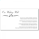 Calista Wedding Wishing Well Card