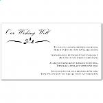 Calista Wedding Wishing Well Card