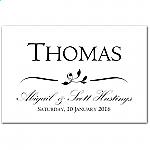 Calista Wedding Place Card