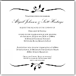 Calista Wedding Invitation