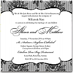 French Classic Wedding Invitation