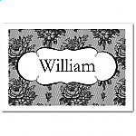 French Classic Wedding Place Card