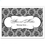 French Classic Wedding Thank You Card