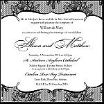 French Classic Wedding Invitation