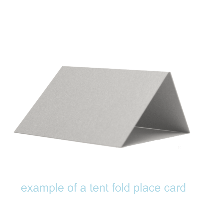 Tent Fold Place Card