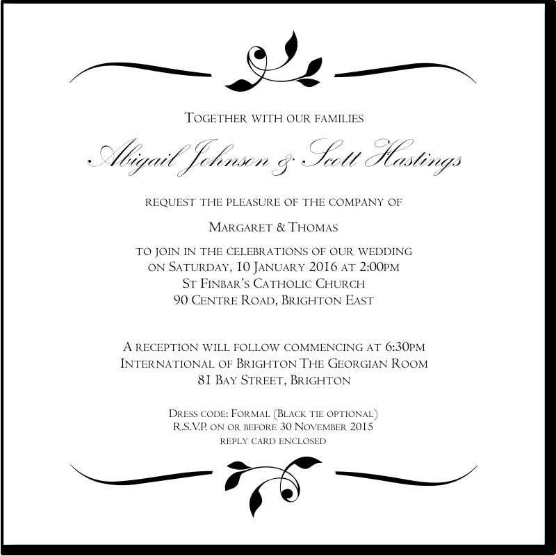 Postcard Wedding Invitations for nice invitations example