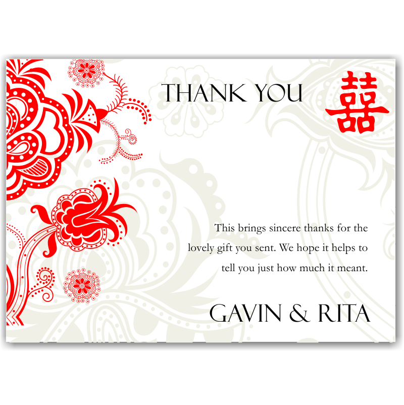 Budget Wedding Invitations Thank You Cards Double