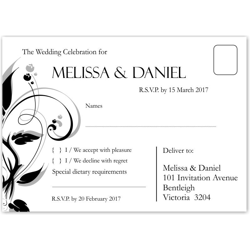 diy wedding rsvp template download printable wedding rsvp cards