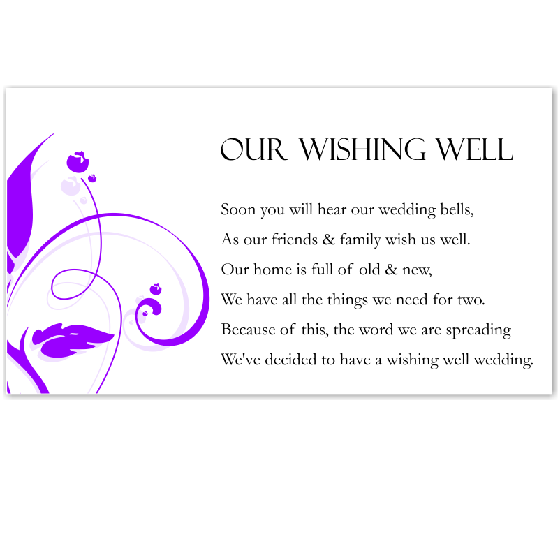 Wedding Wishing Well Invitations: Budget Wedding Invitations Place Cards Modern Classic