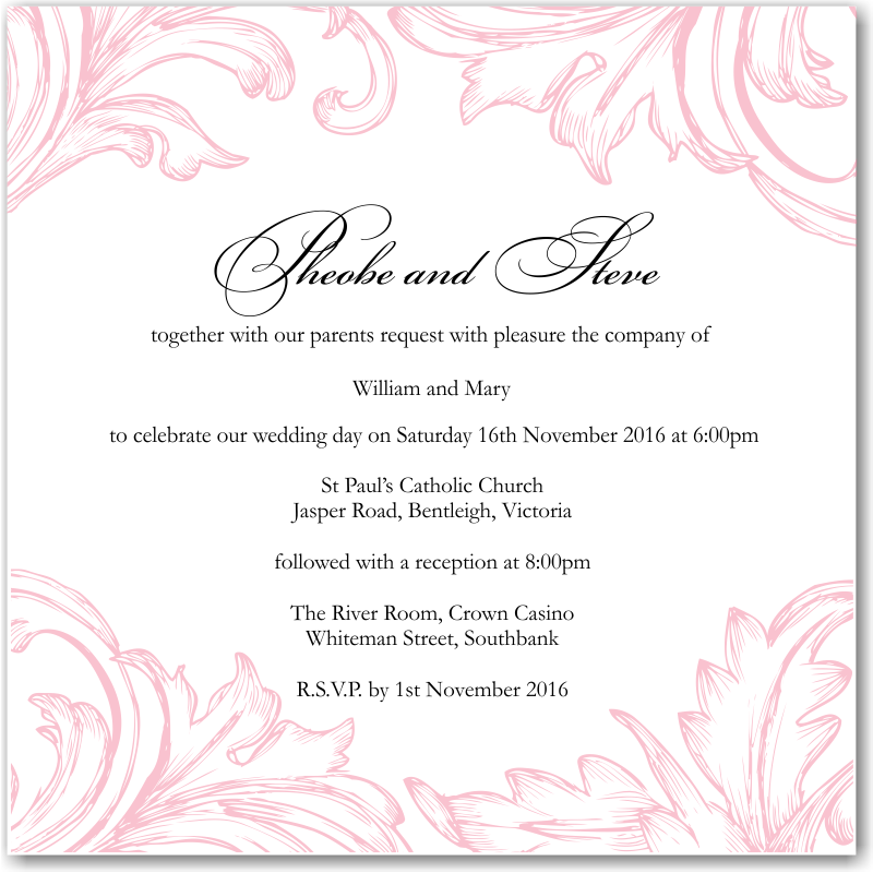Sayings For Invitations was luxury invitations design