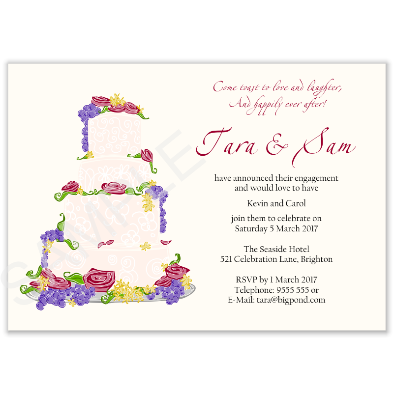 Wedding Invitation Text For Friends Your Wedding Invitations – Engagement Invitation Matter