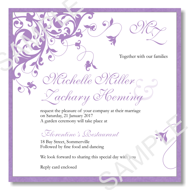 High Resolution Images Of Wedding Invitation Template