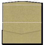 DL Pouch DIY Invitation Curious Gold Leaf 20Pk