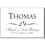 Calista Wedding Place Card 10Pk