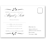 Calista Wedding RSVP Postcard 10Pk