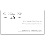 Calista Wedding Wishing Well Card 10Pk