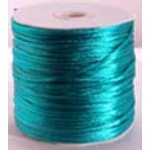 Rattail Cord Turquoise 2mm 100mt Roll
