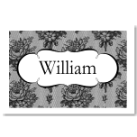 French Classic Wedding Place Card 10Pk
