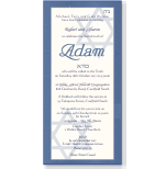 Shining Star Bar Mitzvah Invitation Template